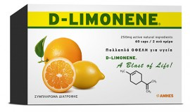 Amhes Nutraceuticals D-LIMONENE 60 CAPS