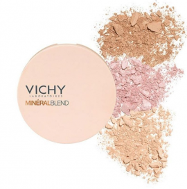 Vichy Mineralblend Healthy Glow Tri-Colour Powder Medium 9gr