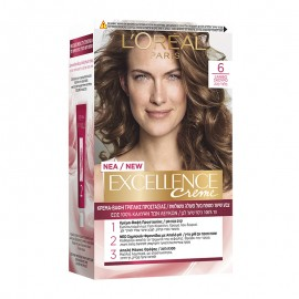 LOreal Excellence Creme 6 Ξανθό Σκούρο 48ml