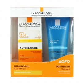 LA ROCHE POSAY ANTHELIOS XL Ultra Light Fluide SPF50+ 50ml - Δώρο POSTHELIOS Hydra gel 100ml