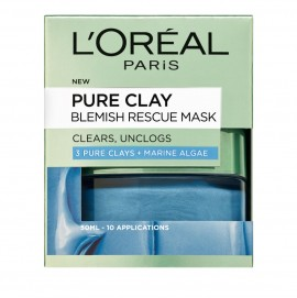 LOreal Paris Pure Clay Blemish Rescue Mask 50ml