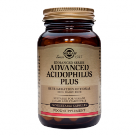 SOLGAR ADVANCED ACIDOPHILUS PLUS 120VCAP