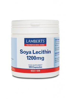 LAMBERTS SOYA LECITHIN 1200MG 120CAPS