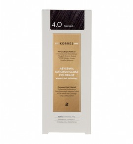 KORRES Abyssinia Superior Gloss Colorant 4.0 Καστανό 50ml