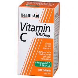Health Aid Vitamin C 1000mg with Bioflavonoids 60 Ταμπλέτες