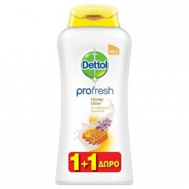 Dettol Profresh Honey Glow 500ml 1+1 ΔΩΡΟ