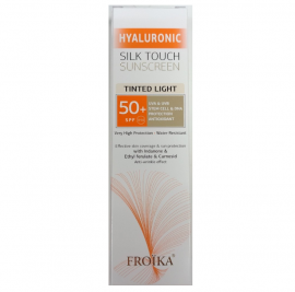 Froika Hyaluronic Silk Touch Sunscreen Tinted Light SPF50 40ml