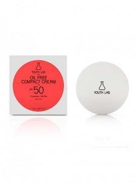Youth Lab Oil Free Compact Cream Spf50 Dark Color 10gr