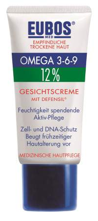 EUBOS OMEGA 3-6-9 FACE CREAM ΜE DEFENSIL® 12% 50ml