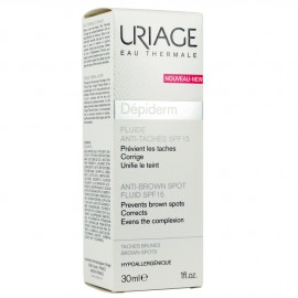 URIAGE DEPIDERM SP15 FLUIDE 30ML
