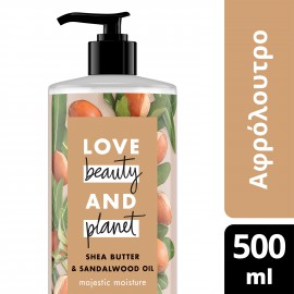 Love Beauty and Planet ΑΦΡΟΛΟΥΤΡΟ SHEA BUTTER 500ML