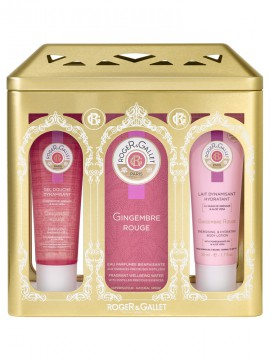 Roger&Gallet Gingembre Rouge Fragrant Wellbeing Water 100ml + Δώρο Energising Shower Gel 50ml + Revitalizing & Hydrating Body Lotion 50ml