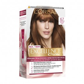 LOreal Excellence Creme 6.7 Σοκολατί 48ml