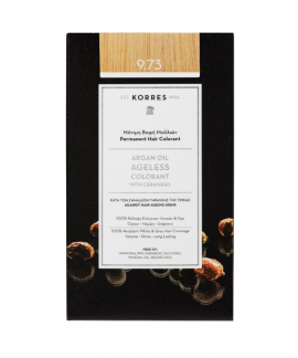 Korres Argan Oil Ageless Colorant 9.73 Χρυσό Κάστανο 50ml