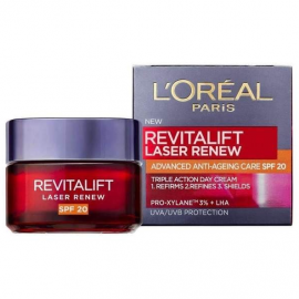 LOreal Paris Revitalift Laser Renew SPF20 Αντιγηραντική Κρέμα 50ml