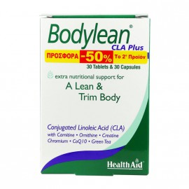 Health Aid Bodylean CLA Plus 30tabs+30caps 1+1 -50% στο 2ο προιόν