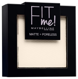 Maybelline Fit Me Matte and Poreless Powder 100 Warm Ivory 9g