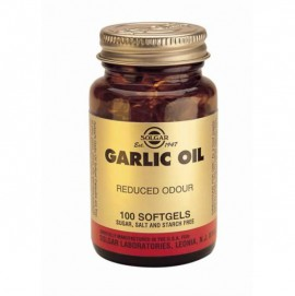 SOLGAR GARLIC OIL SOFTGELS 100S