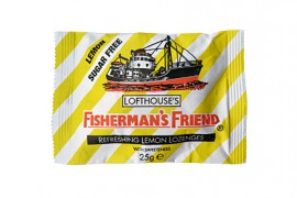 FISHERMANS FRIEND Καραμέλες Lemon Sugar Free (ΚΙΤΡΙΝΟ) 25gr