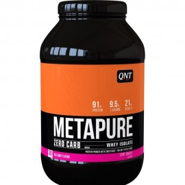 QNT Metapure Zero Carb Whey Isolate Protein Powder Red Candy 908gr