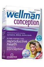 VITABIOTICS WELLMAN Conception 30TABS