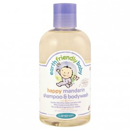 Earth Friendly Baby Soothing Mandarin Shampoo & Bodywash 250ml