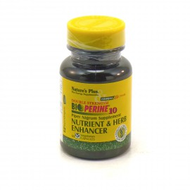 NATURES PLUS BIOPERINE 60VCAPS