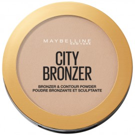 Maybelline City Bronzer Bronzer & Contour Powder 250 Medium Warm 8g
