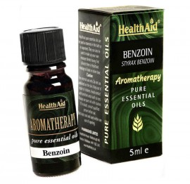 Health Aid Aromatherapy Benzoin Pure Essential Oil 5ml