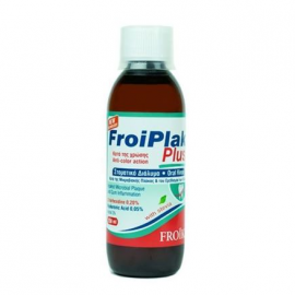 Froika Froiplak Plus 0.20 PVP Action Mouthwash με Στέβια 250ml