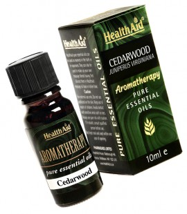 Health Aid Aromatherapy Cedarwood Oil (Juniperous virginiana) 10ml