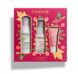 Caudalie Set Vinosource SOS Serum 30ml + ΔΩΡΟ Caudalie Vinosource Creme Sorbet Hydratante 15ml + ΔΩΡΟ Caudalie Mousse Nettoyante 50ml