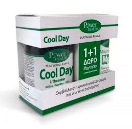 Power Health Classics Platinum Cool Day 30caps + Δώρο Power Health Magnesium 10tabs