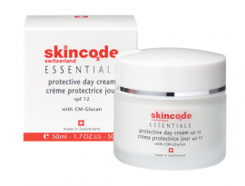 SKINCODE ESSENTIALS PROTECTIVE DAY CREAM SPF12 50ML