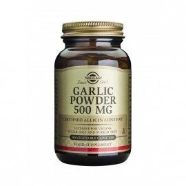 SOLGAR GARLIC 500MG VEG.CAPS 90S