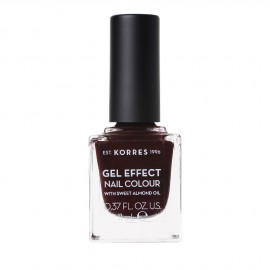 Korres Gel Effect Nail Colour No.54 Festive Red Βερνίκι Νυχιών, 11ml