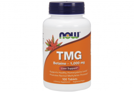Now Foods TMG (Trimethylglycine) 1000mg 100Tabs