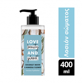 Love Beauty And Planet Lotion Coconut Water & Mimosa flower 400ml