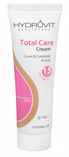 Hydrovit Total Care cream SPF 15, 40ml