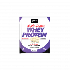 QNT Light Digest Whey Protein White Chocolate 40gr