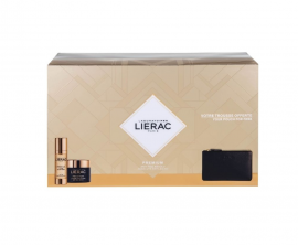 Lierac Set Premium La Cure Anti-Age Absolu 30ml & Premium Voluptuese Cream 50ml & ΔΩΡΟ Δερμάτινο Πορτοφόλι