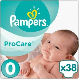 Pampers Procare Premium Protection No.0 (1-2.5kg) 38 Πάνες