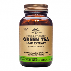 SOLGAR GREEN TEA LEAF EXTRACT VEG. 60S