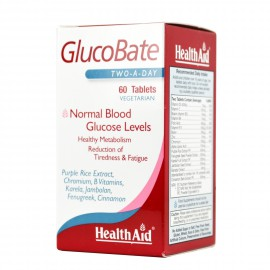 HEALTH AID GLUCOBATE 60vtabs