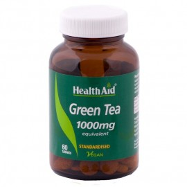 HEALTH AID GREEN TEA EXTRACT 100MG TABLETS 60S