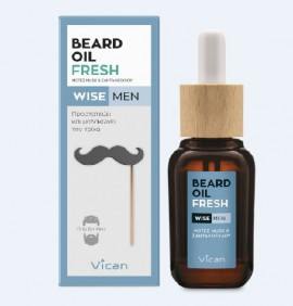 Vican Wise Men Beard Oil Fresh 30ml