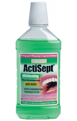 INTERMED Actisept Mouthwash Whitening 500ml