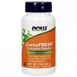 Now Foods CurcuFRESH Curcumin Powder 57gr