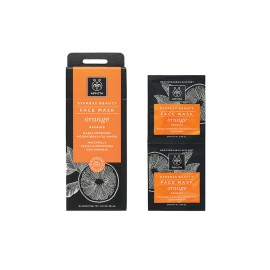 Apivita Express Beauty New Face Mask Orange 2x8ml