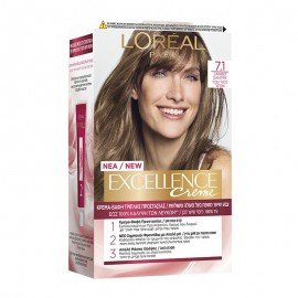 LOreal Excellence Creme 7.1 Ξανθό Σαντρέ 48ml